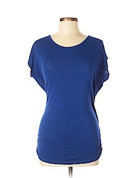 Lily Bleu Short Sleeve Top Size L