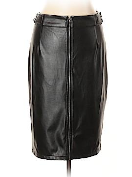 FASHION TO FIGURE Faux Leather Skirt Size 0X Plus (0) (Plus)