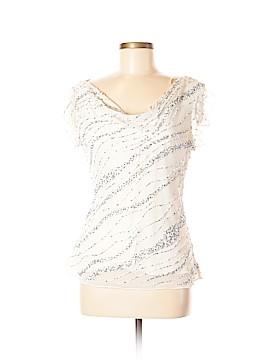 Jkara Short Sleeve Blouse Size M