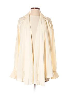 Gianfranco Ferre Long Sleeve Silk Top Size 38 (IT)