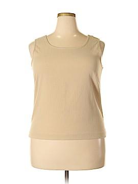 Draper's & Damon's Sleeveless Blouse Size L (Petite)