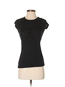 Pink Tartan Short Sleeve T-Shirt Size XS