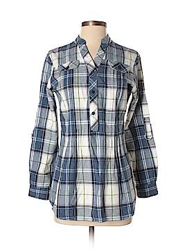 DressBarn 3/4 Sleeve Button-Down Shirt Size S