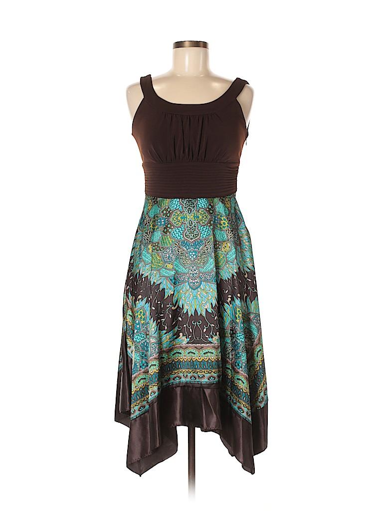 Sangria Women Casual Dress Size 6 (Petite)