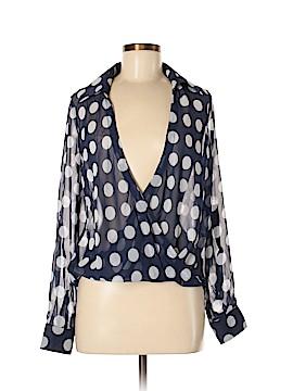 Signature 8 Long Sleeve Blouse Size M