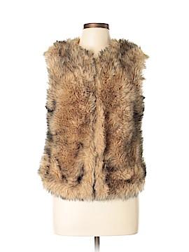 BB Dakota Faux Fur Vest Size M
