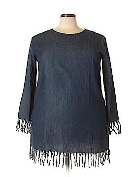 Velzera Long Sleeve Blouse Size 3X (Plus)