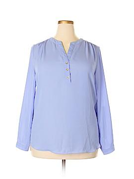 Zac & Rachel Long Sleeve Blouse Size XL