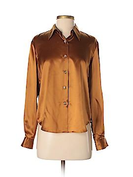 Grace Long Sleeve Silk Top Size S