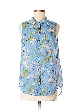 H&M Short Sleeve Blouse Size 8