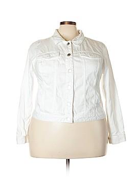 Lane Bryant Denim Jacket Size 22 (Plus)