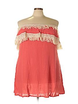 Velzera Short Sleeve Top Size 1X (Plus)