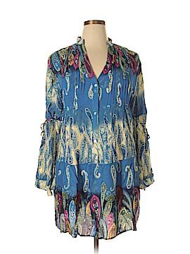 Velvet Long Sleeve Blouse Size 2X (Plus)