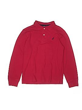 Nautica Long Sleeve Polo Size 14 - 16