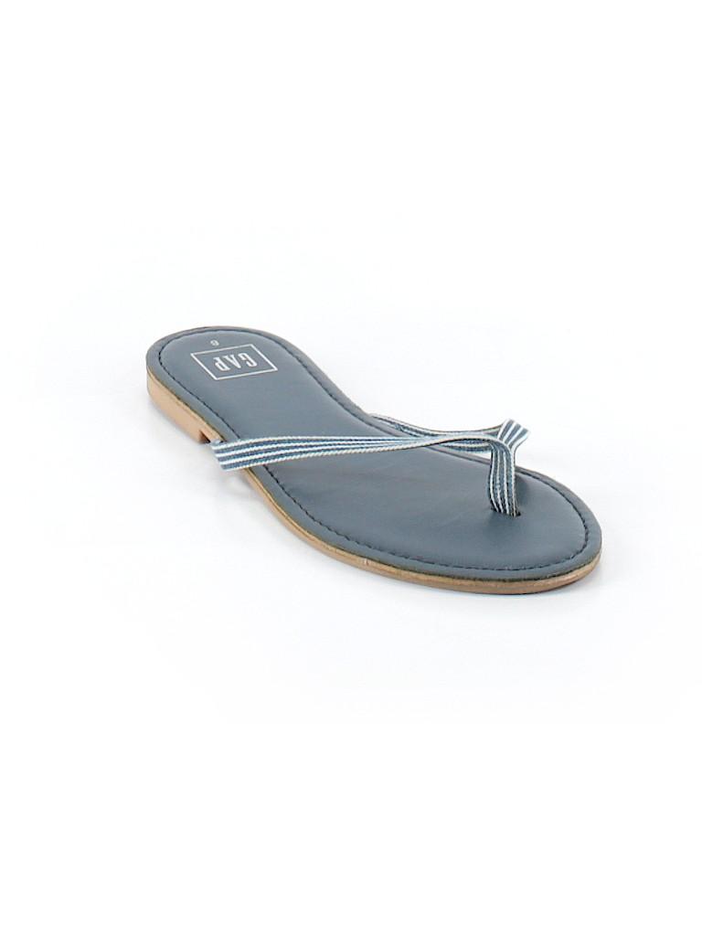 7386272546e75 Gap Solid Dark Blue Flip Flops Size 8 - 60% off