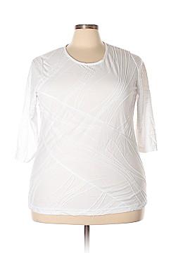 C.D. Daniels 3/4 Sleeve Top Size 1X (Plus)