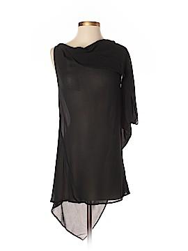 Ann Demeulemeester Short Sleeve Silk Top Size 36 (FR)