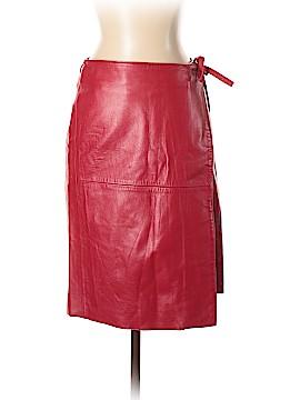 Sisley Leather Skirt Size XS