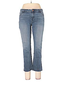 Simply Vera Vera Wang Jeans Size 16 (Petite)