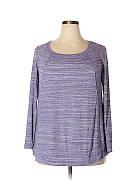 Ava & Viv Long Sleeve Top Size 1X (Plus)