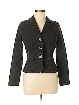 Jones New York Denim Jacket Size 10 (Petite)