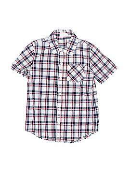 Crazy 8 Short Sleeve Button-Down Shirt Size S (Kids)