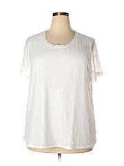 Isela Women Short Sleeve Top Size 2X (Plus)