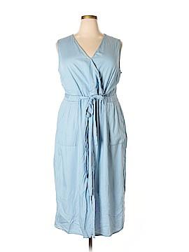 Modamix By Brandon Thomas Casual Dress Size 28W Plus (Plus)