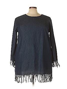 Velzera Long Sleeve Blouse Size 2X (Plus)