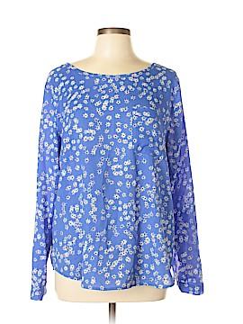 Ann Taylor Long Sleeve Blouse Size XL