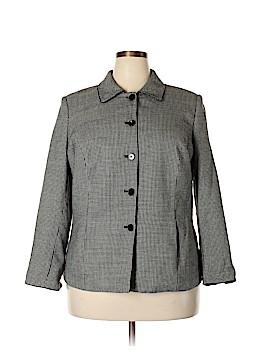 Kasper & Company ASL Wool Coat Size 16W