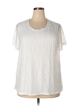 Isela Short Sleeve Top Size 2X (Plus)