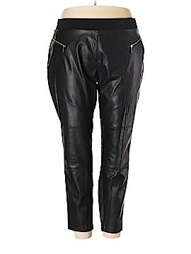 MICHAEL Michael Kors Faux Leather Pants Size 3X (Plus)