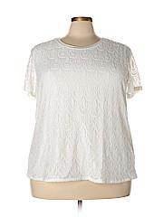 Isela Women Short Sleeve Top Size 3X (Plus)