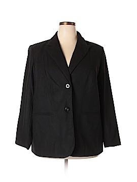 Jessica London Wool Blazer Size 18 (Plus)