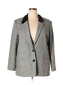 Alfred Dunner Wool Blazer Size 18 (Plus)