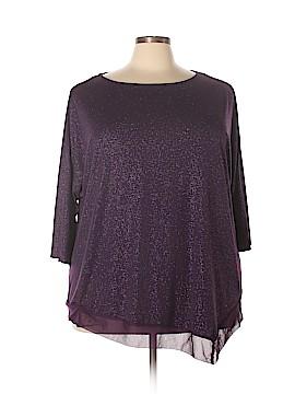 Avenue 3/4 Sleeve Blouse Size 28 (Plus)
