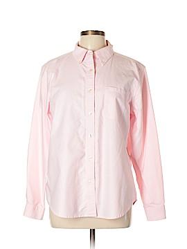 L.L.Bean Factory Store Long Sleeve Button-Down Shirt Size L