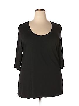 Sejour 3/4 Sleeve T-Shirt Size 3X (Plus)