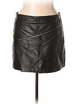 MICHAEL Michael Kors Leather Skirt Size 14