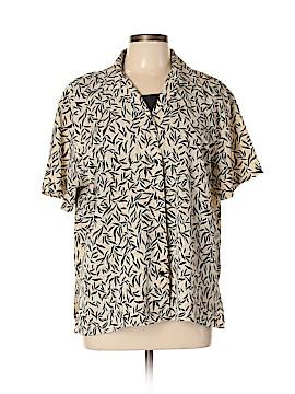 Notations Short Sleeve Button-Down Shirt Size XL