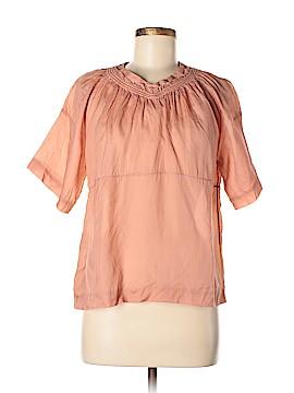 MARNI Short Sleeve Silk Top Size 38 (IT)
