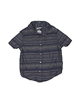 Arizona Jean Company Short Sleeve Button-Down Shirt Size 4