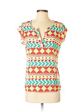 Adrienne Short Sleeve Blouse Size S