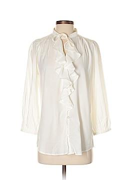 Lauren Jeans Co. 3/4 Sleeve Button-Down Shirt Size S