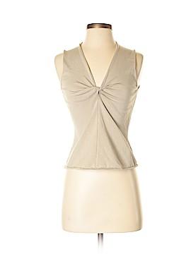 Yansi Fugel Sleeveless Silk Top Size M