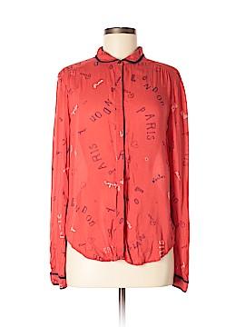 Maven West Long Sleeve Button-Down Shirt Size 6