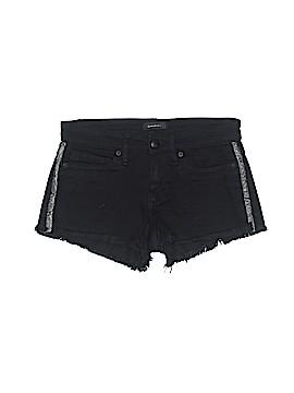 Bebe Denim Shorts Size 24 (Plus)