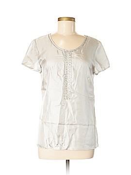 Alfani Short Sleeve Silk Top Size 6