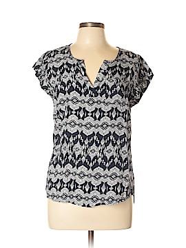 Ava Christine Short Sleeve Blouse Size L